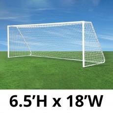 Jaypro CC18S Classic Club Soccer Goals, 6.5' x 18', pair