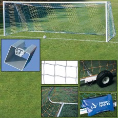 Jaypro 8' x 24' Official Soccer Goal PACKAGE, SGP-760PKG