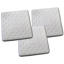 Soft Touch T1500 T-Series Bases for Turf, set of 3