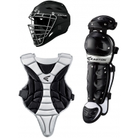 Easton Black Magic JR. Baseball/Softball Catcher's Set, YOUTH, Ages 6-8
