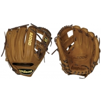 Wilson WTA20RB15DP15GM A2000 Dustin Pedroia Baseball Glove, 11.5""