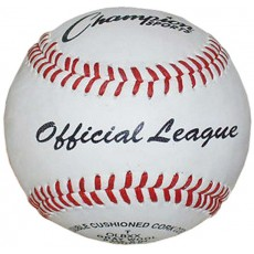 Champion OLBXX Leather Practice Baseballs, dz.