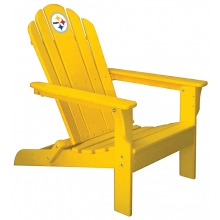 Pittsburgh Steelers NFL Folding Adirondack Chair, YELLOW