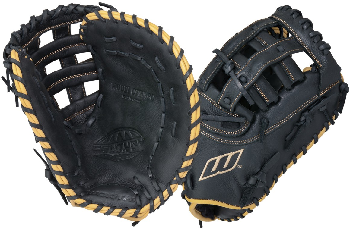 Mens outfield gloves - Worth Cfbmbc Century Series Fastpitch Softball First Base Glove 12 5