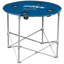 Detroit Lions NFL Pop-Up/Folding Round Table