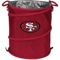 San Francisco 49ers NFL Collapsible 3-in-1 Hamper/Cooler/Trashcan