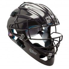 Schutt Air Maxx 2966 Molded Catcher's Helmet w/Titanium OS Faceguard