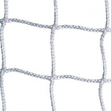 Jaypro SCN-24 Official Soccer Net 3mm, WHITE 8' x 24' x 4' x 10' (pr)