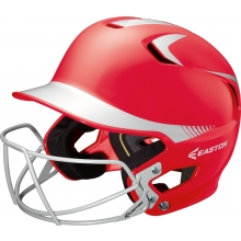 Easton Z5 Junior Two Tone Batting Helmet w/ Facemask