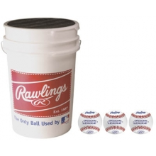 Rawlings 3 dz ROLB1X Ball & Bucket Combo