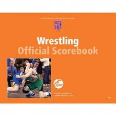 Cramer 191308 Official High School Scorebook, WRESTLING