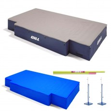 "Gill G1 18' x 10' x 26"" High Jump Pit Value Pack, VP64617"