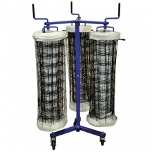 Jaypro TRIPLE, Volleyball Net Storage Cart, VNK33