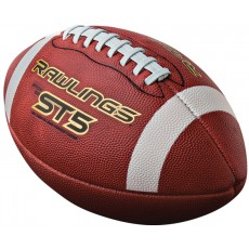 Rawlings ST5AB NFHS Leather Football