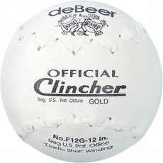"Rawlings deBeer F12G Official Clincher 12"" Softball, 6pk"