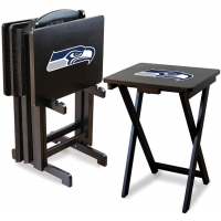 Seattle Seahawks NFL TV Snack Tray/Table Set