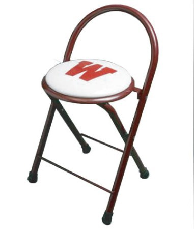 Stadium Chair Folding Locker Stool W 1 Color Artwork