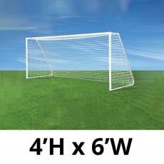 Jaypro CC6S Classic Club Soccer Goals, 4' x 6', pair