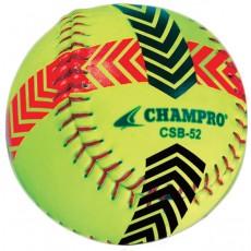 Champro 2/pk Striped Training Softballs, CSB52S