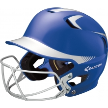 Easton Z5 SENIOR Two Tone Batting Helmet w/ Facemask