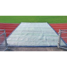 TrackSaver Premium Weighted Track Cover, 14' x 125'