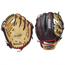Wilson A500 WTA05RB1811 Youth Baseball Glove, 11""
