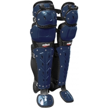 Schutt Air Maxx Scorpion Triple Flex Catcher's Leg Guards, 16""