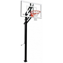 "Goalsetter X448 Extreme Series Outdoor Basketball Unit w/ 32"" x 48"" Glass Board"