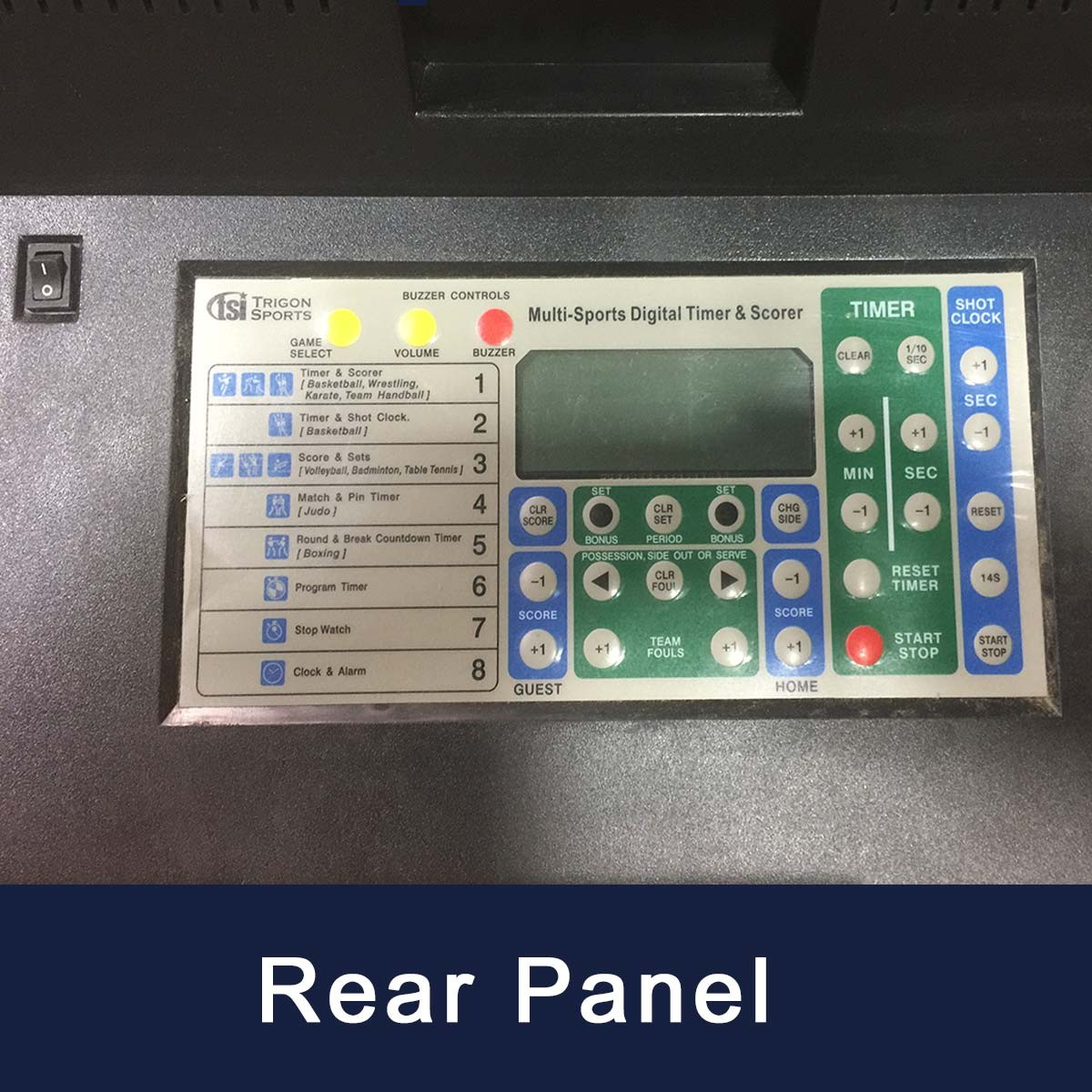 multi sport electronic tabletop scoreboard w wireless remote 24 w x 16 h. Black Bedroom Furniture Sets. Home Design Ideas
