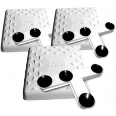 """Soft Touch IN1500 15"""" Indoor Bases w/ Mounting Tees, set of 3"""