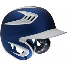 Rawlings S80X2J S80 Two-Tone 80 MPH Matte Finish Batting Helmet, SENIOR