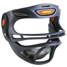 Bangerz Softball Safety Fielder's Mask, Black