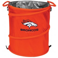 Denver Broncos NFL Collapsible 3-in-1 Hamper/Cooler/Trashcan