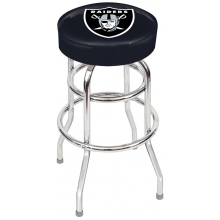 "Oakland Raiders NFL 30"" Bar Stool"