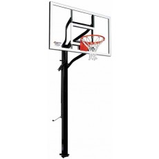 "Goalsetter X560 Extreme Series Outdoor Basketball Unit w/ 38"" x 60"" Glass Board"
