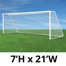 Jaypro 7' x 21' Classic Club Soccer Goals, CC21S (pair)