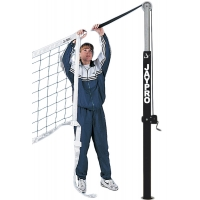 Jaypro PVBN-6AK Flex Net Official Volleyball Net w/ Adapter Cords