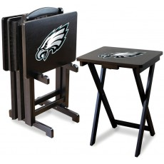 Philadelphia Eagles NFL TV Snack Tray/Table Set
