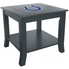Indianapolis Colts NFL Hardwood Side/End Table