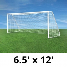 Jaypro CC12S Classic Club Soccer Goals, 6.5' x 12', pair