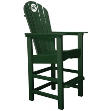 Green Bay Packers NFL Outdoor Pub Captains Chair, GREEN