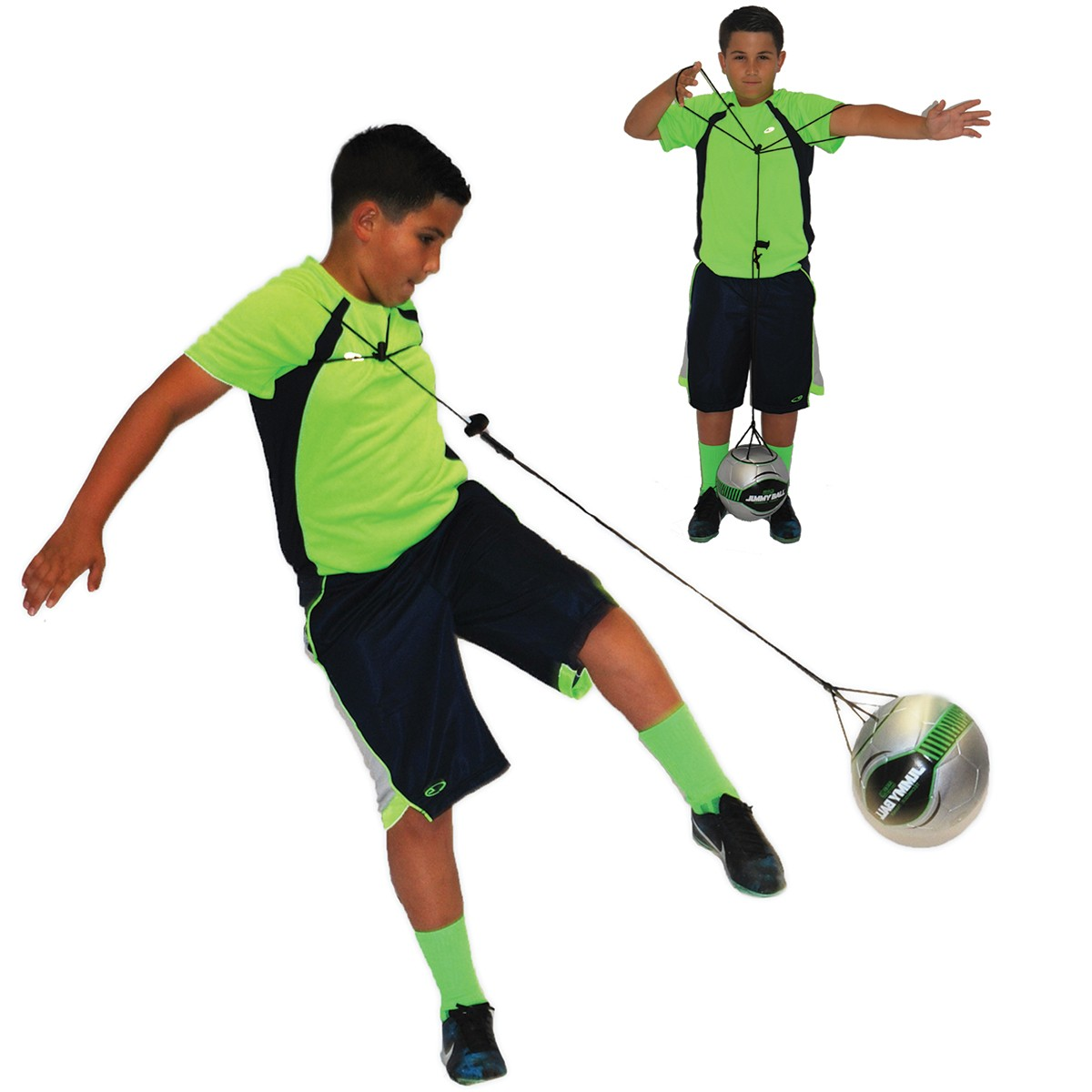 Soccer Innovations Jimmy Ball Soccer Trainer Size 4