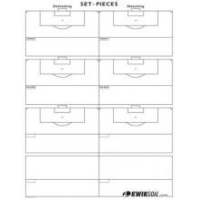Kwik Goal 18A1102 Soccer Kwik Chart, Set-Pieces
