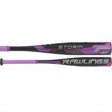 2018 Rawlings Storm -12 USA Fastpitch Tee Ball Bat, TB8S12