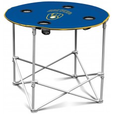 Milwaukee Brewers MLB Pop-Up/Folding Round Table