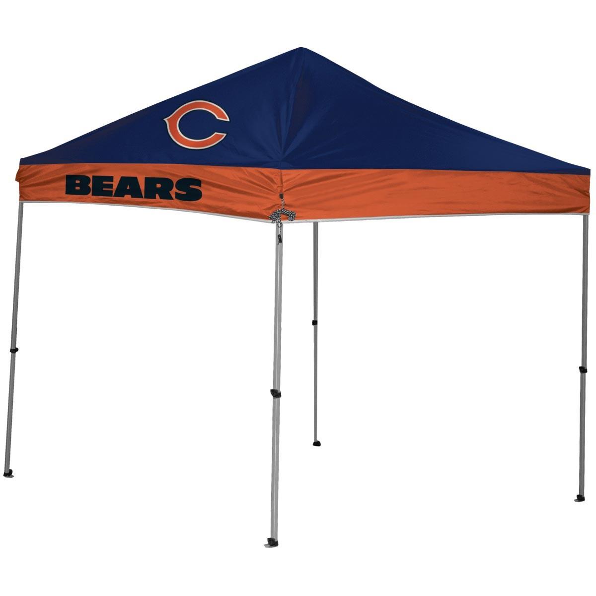 sc 1 st  Anthem Sports & Chicago Bears NFL 9x9 Straight Leg Canopy