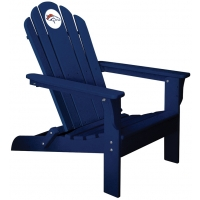 Denver Broncos NFL Folding Adirondack Chair, NAVY