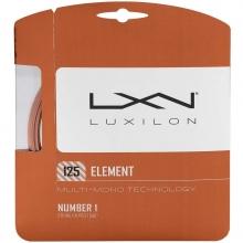 Luxilon Element 16L/1.25mm Tennis String, Bronze, 40'