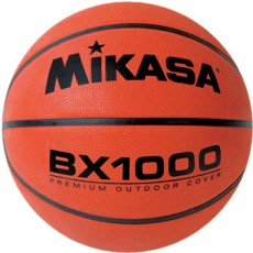 "Mikasa BX1000 Varsity Series Rubber Basketball, MEN'S, 29.5"""