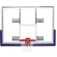 Bison BA407C Side Court Conversion Basketball Backboard, 42'' x 54''